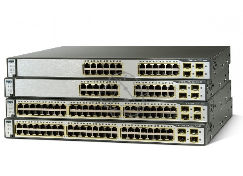 Коммутатор Cisco WS-C3750-24PS-S