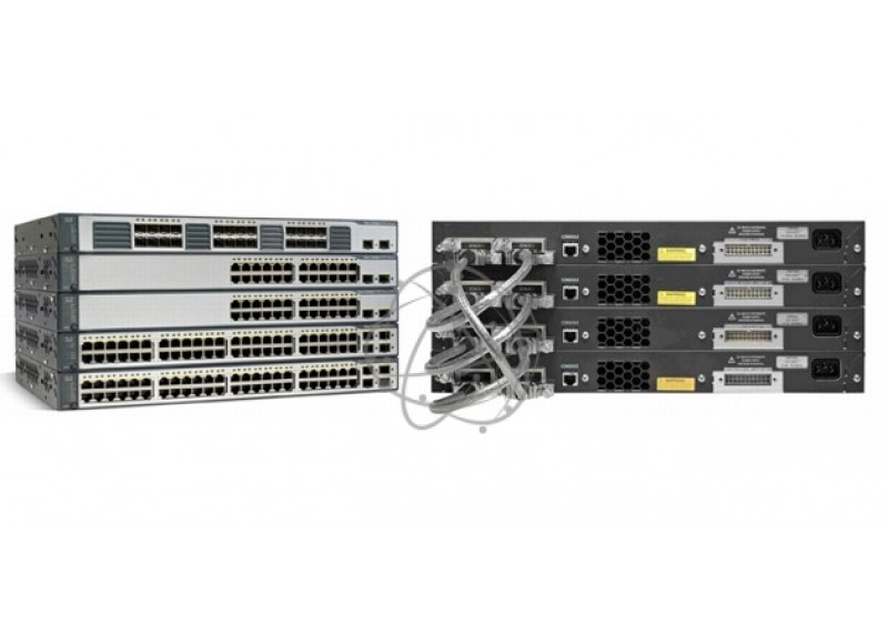Коммутатор Cisco WS-C3750-24TS-E