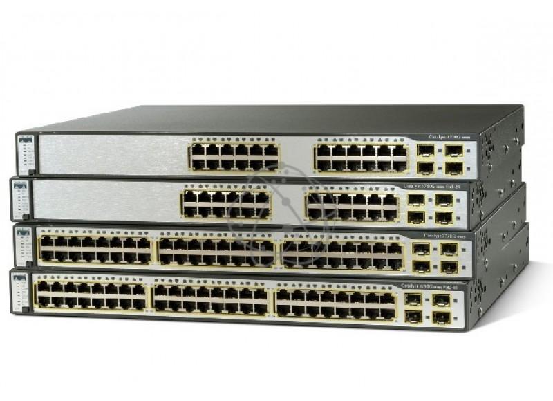 Коммутатор Cisco WS-C3750-24FS-S