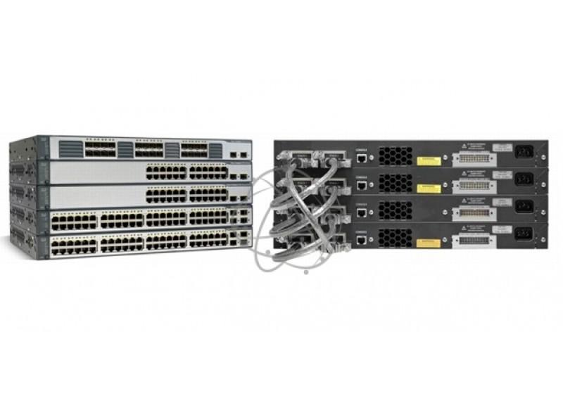 Коммутатор Cisco WS-C3750-48PS-S